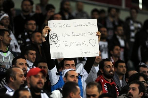 Torku Arena'da Tarihi Beşiktaş Trabzonspor Maçı 23