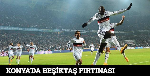 Torku Arena'da Tarihi Beşiktaş Trabzonspor Maçı 32