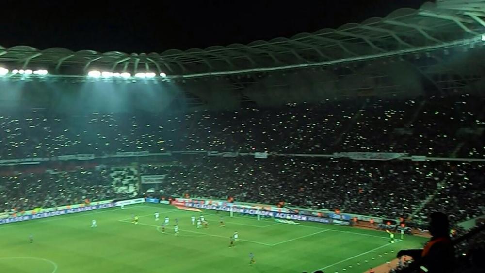 Torku Arena'da Tarihi Beşiktaş Trabzonspor Maçı 34