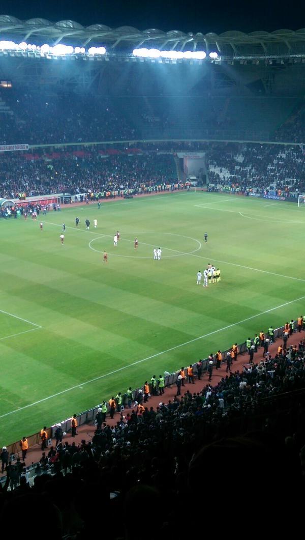 Torku Arena'da Tarihi Beşiktaş Trabzonspor Maçı 35