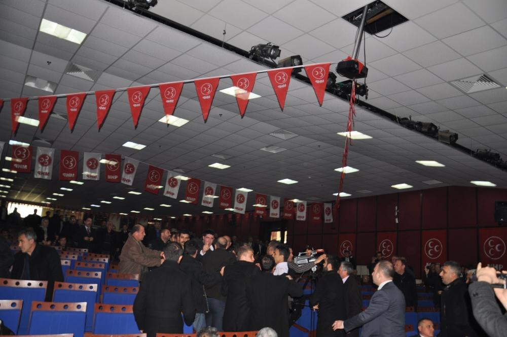 MHP Ereğli İlçe Kongresinde kavga 2