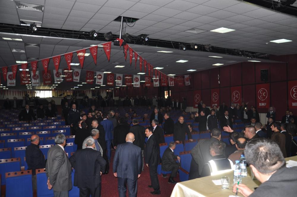 MHP Ereğli İlçe Kongresinde kavga 4