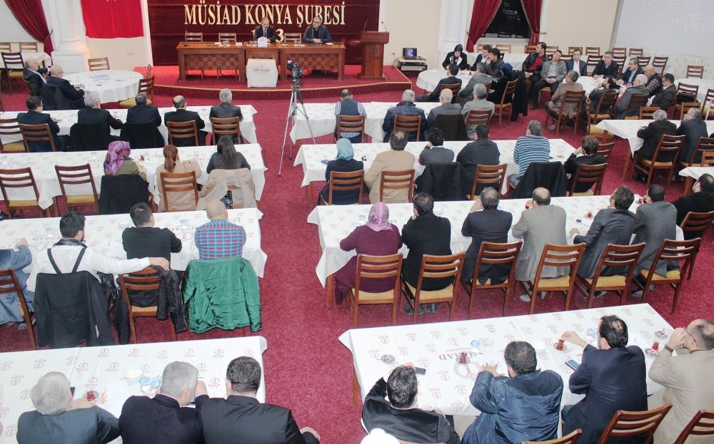 KONYA MÜSİAD'DA PARALEL YAPIYLA MÜCADELE KONUŞULDU 4