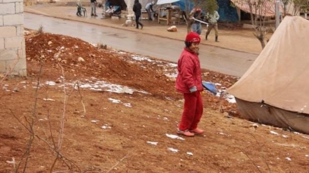 Suriyeli çocukların soğukla savaşı 1