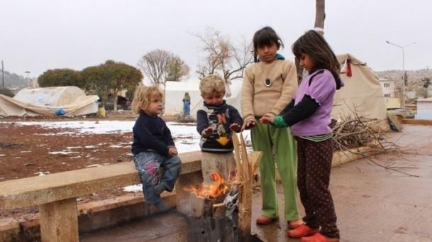 Suriyeli çocukların soğukla savaşı 13