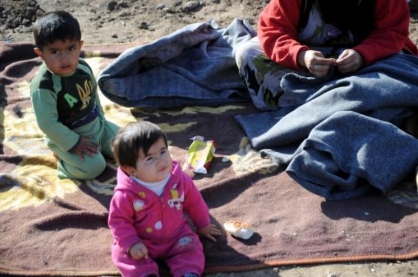 Suriyeli çocukların soğukla savaşı 15