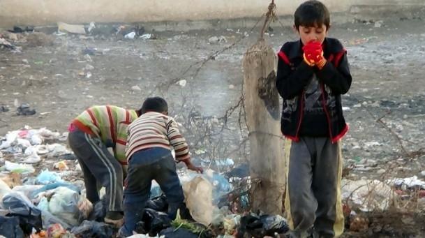 Suriyeli çocukların soğukla savaşı 17
