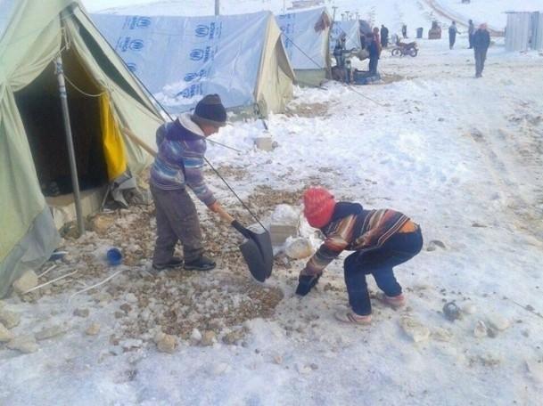Suriyeli çocukların soğukla savaşı 6