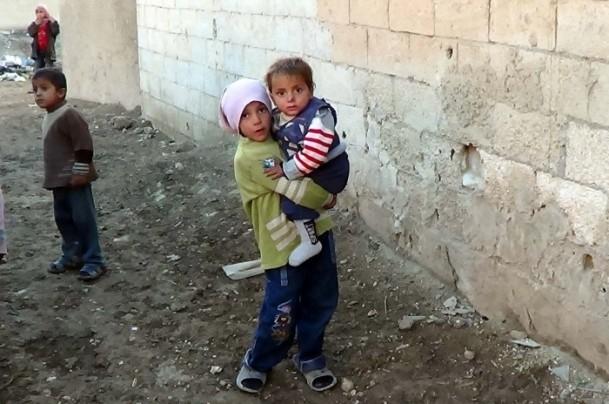 Suriyeli çocukların soğukla savaşı 8