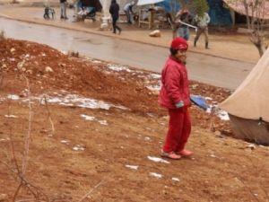 Suriyeli çocukların soğukla savaşı