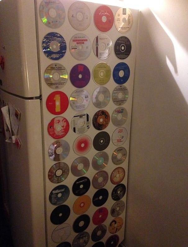 Kullanılmayan CD'lerinizi geri dönüştürün! 12