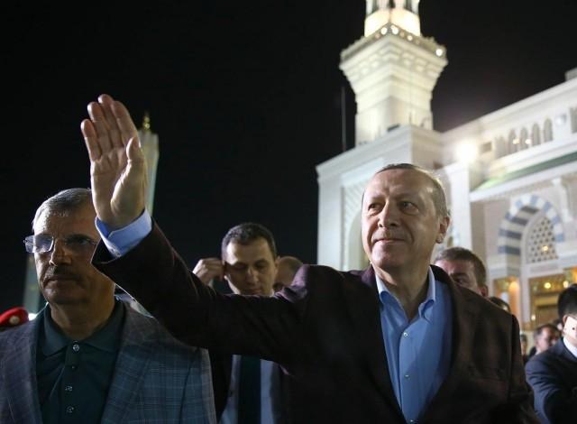 Erdoğan'ın Medine ziyareti 10