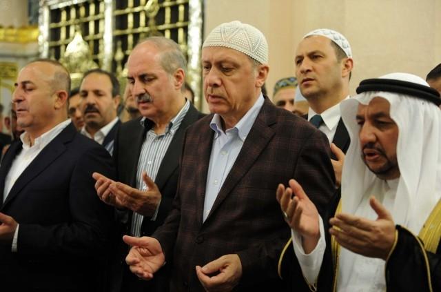 Erdoğan'ın Medine ziyareti 4