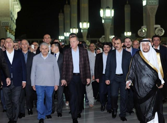 Erdoğan'ın Medine ziyareti 5