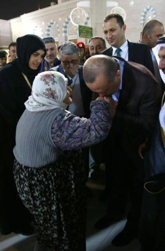 Erdoğan'ın Medine ziyareti 7