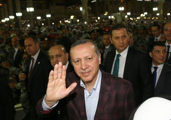 Erdoğan'ın Medine ziyareti 8