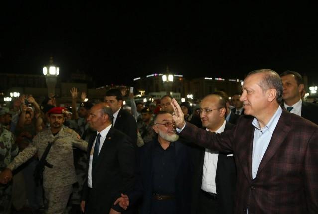 Erdoğan'ın Medine ziyareti 9