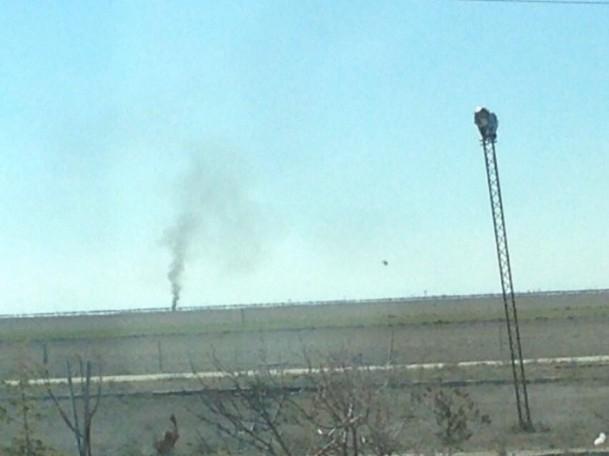 Konya'da askeri uçak düştü! 4