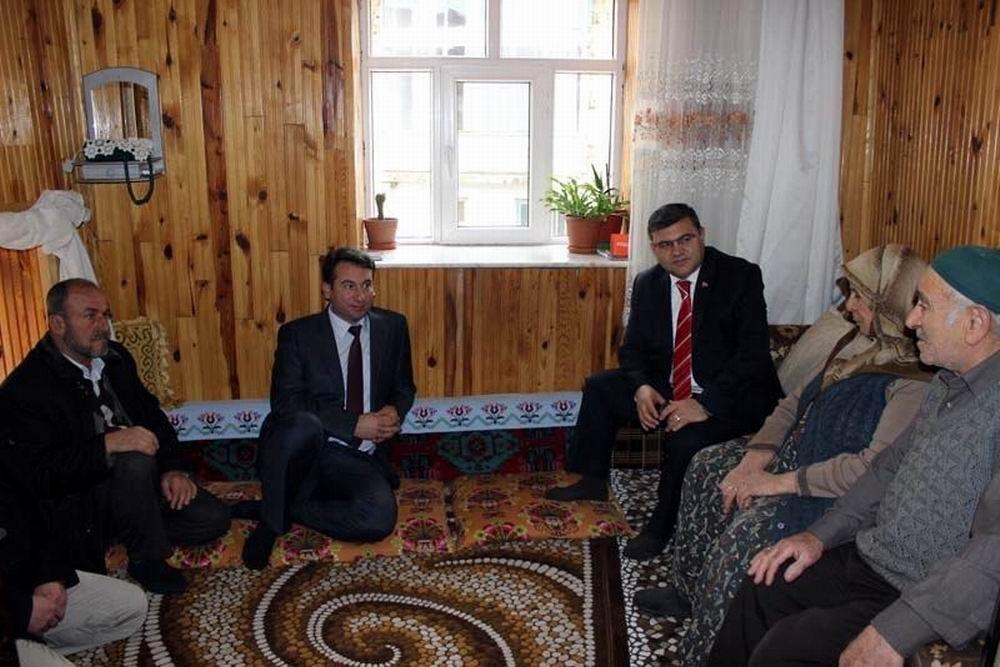 Beyşehir'de şehit aileleri ve gazilere ziyaret 1