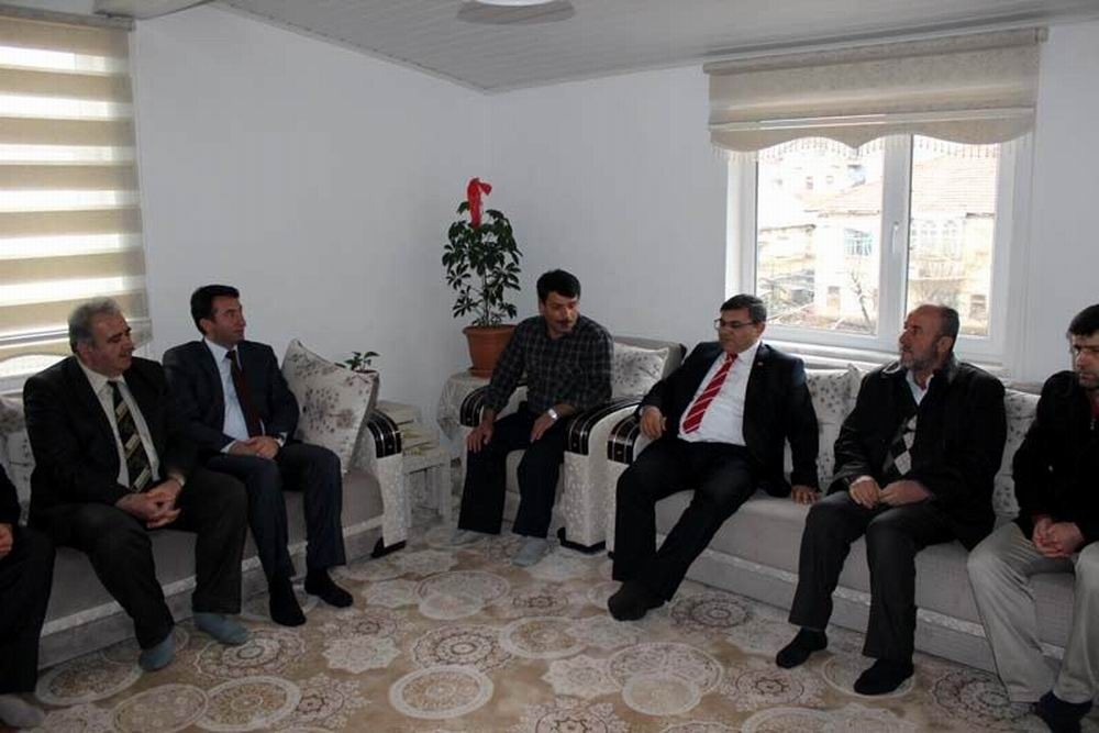 Beyşehir'de şehit aileleri ve gazilere ziyaret 2
