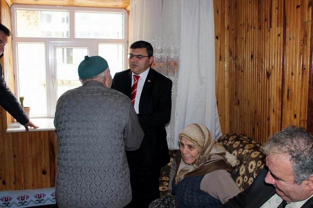 Beyşehir'de şehit aileleri ve gazilere ziyaret 3