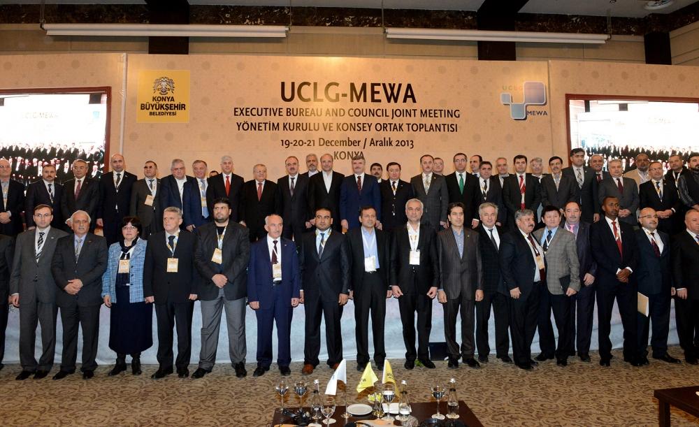 Dünya belediyeleri Konya'da buluştu... 1