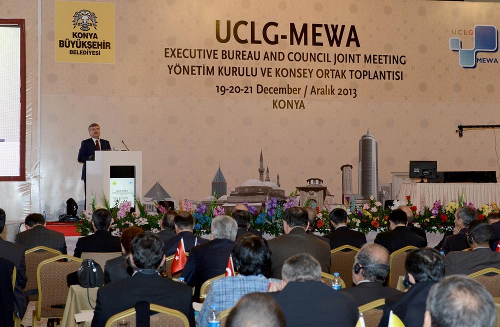 Dünya belediyeleri Konya'da buluştu... 4