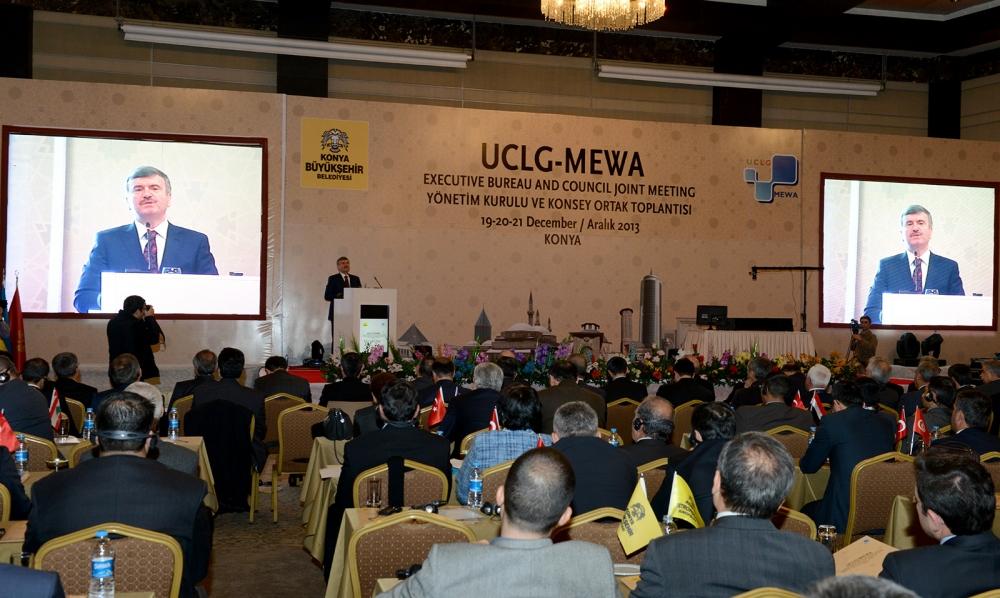 Dünya belediyeleri Konya'da buluştu... 5
