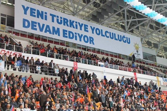 Davutoğlu Konya'da 10
