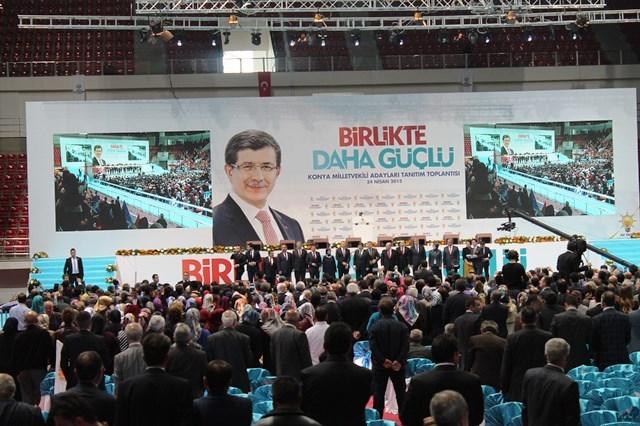 Davutoğlu Konya'da 2