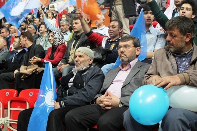Davutoğlu Konya'da 3