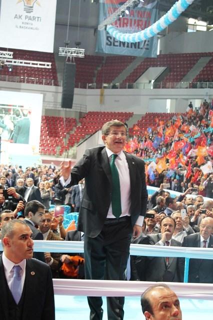 Davutoğlu Konya'da 5