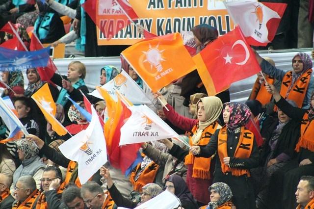 Davutoğlu Konya'da 9