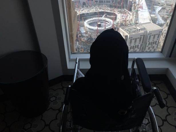 Engelli kardeşlerin Kabe rüyası gerçek oldu! 6