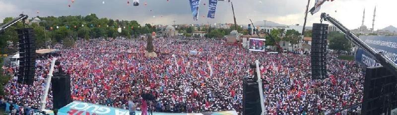 Başbakan Ahmet Davutoğlu Konya'da 12