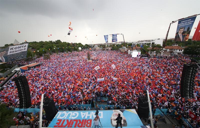 Başbakan Ahmet Davutoğlu Konya'da 13