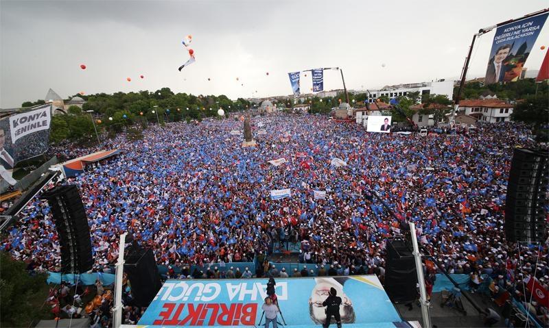 Başbakan Ahmet Davutoğlu Konya'da 17