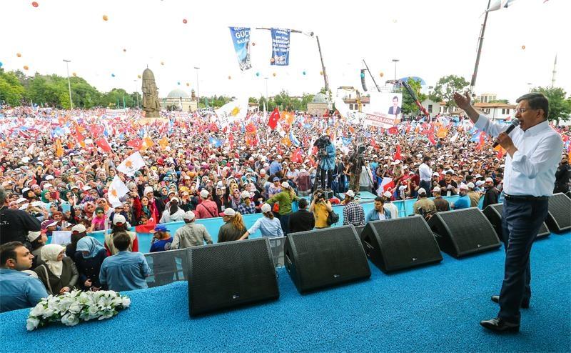 Başbakan Ahmet Davutoğlu Konya'da 25