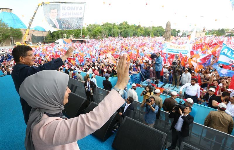 Başbakan Ahmet Davutoğlu Konya'da 26