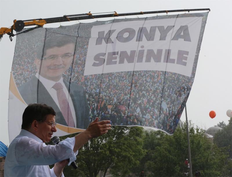 Başbakan Ahmet Davutoğlu Konya'da 27