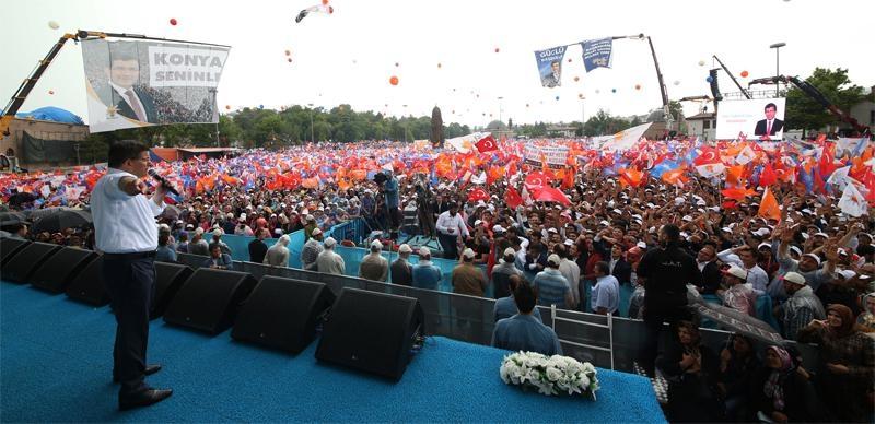 Başbakan Ahmet Davutoğlu Konya'da 29