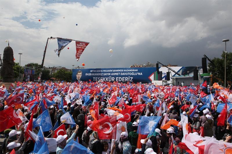Başbakan Ahmet Davutoğlu Konya'da 33