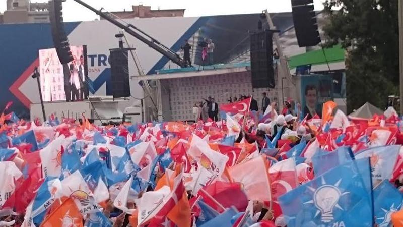 Başbakan Ahmet Davutoğlu Konya'da 5