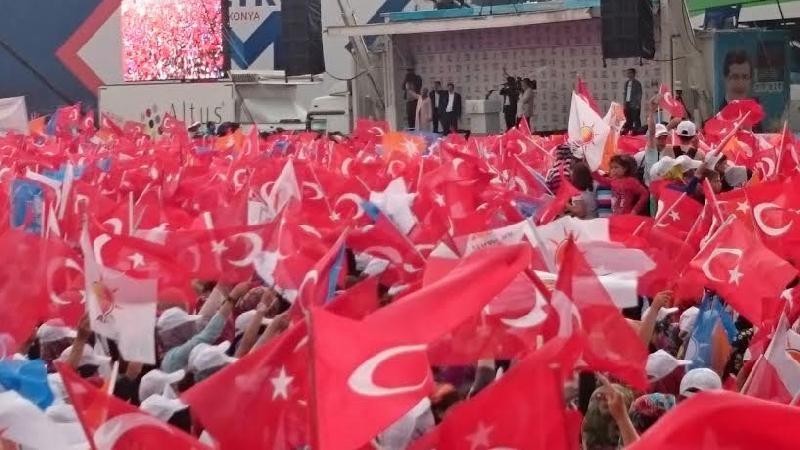 Başbakan Ahmet Davutoğlu Konya'da 7