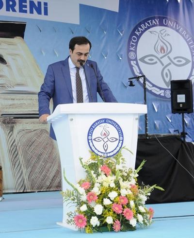 Diriliş KTO Karatay Üniversitesi'nde başladı 12
