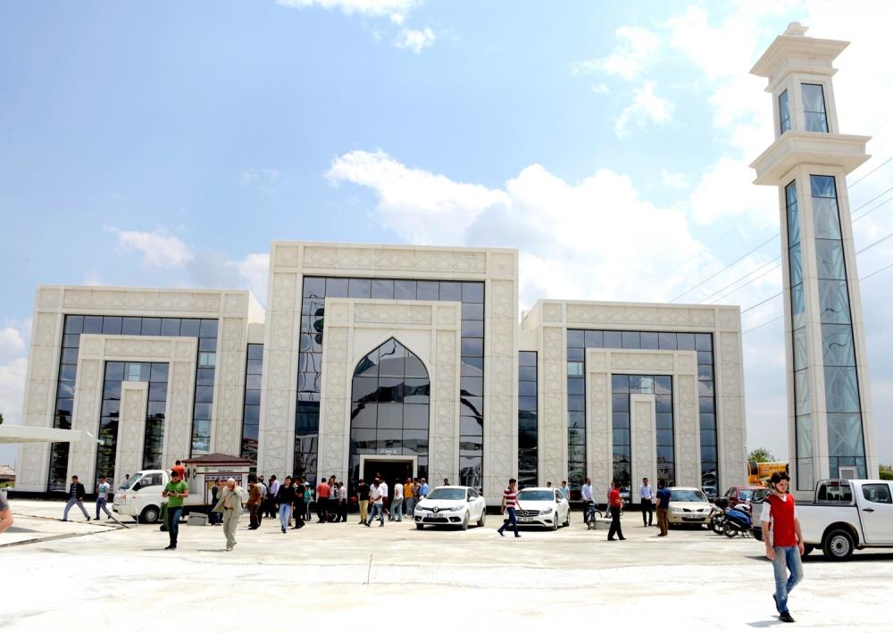 Meram'a 1800 kişilik cami 3