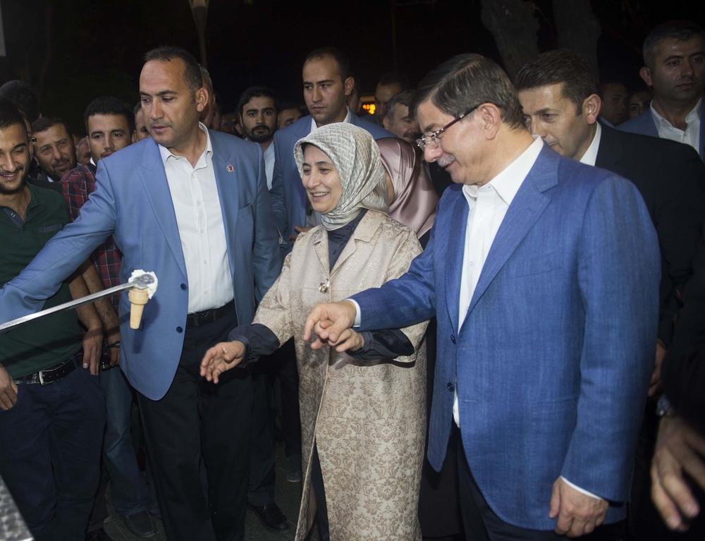 Başbakan Davutoğlu Konya Zafer'de yürüyüşe çıktı 4