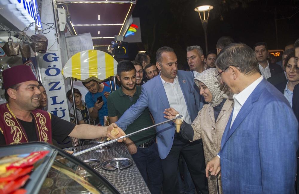 Başbakan Davutoğlu Konya Zafer'de yürüyüşe çıktı 7
