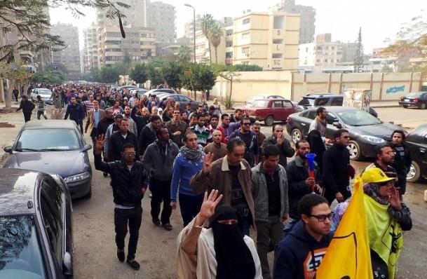Mısır'da darbe karşıtı cuma gösterileri 11