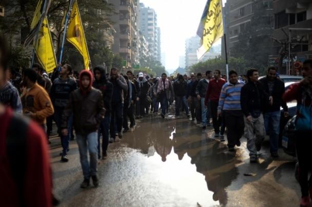 Mısır'da darbe karşıtı cuma gösterileri 12
